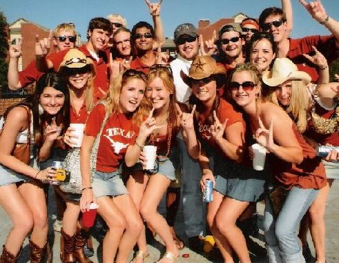 University of Texas students