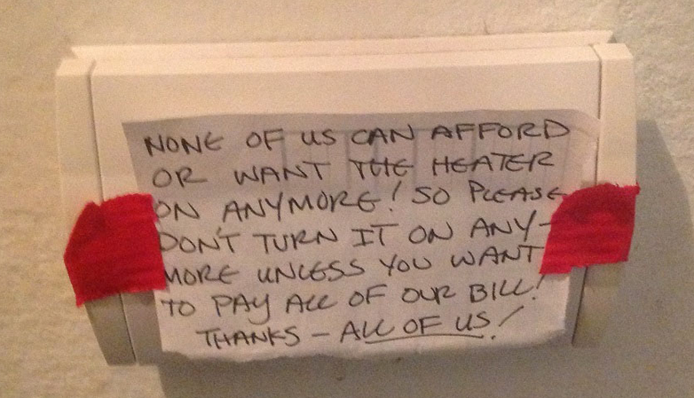 Note on an air conditioner control