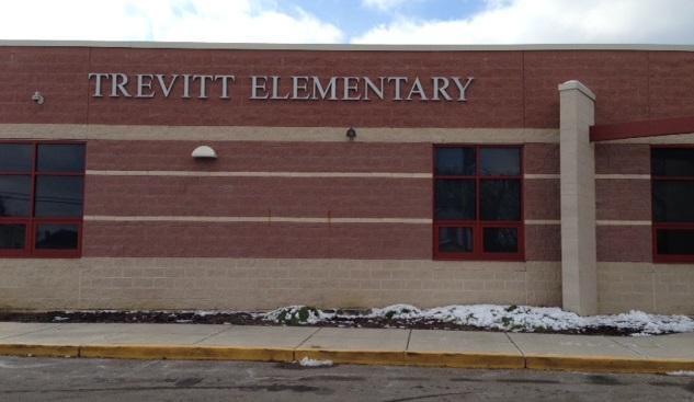 Entrance to Trevitt Elementary
