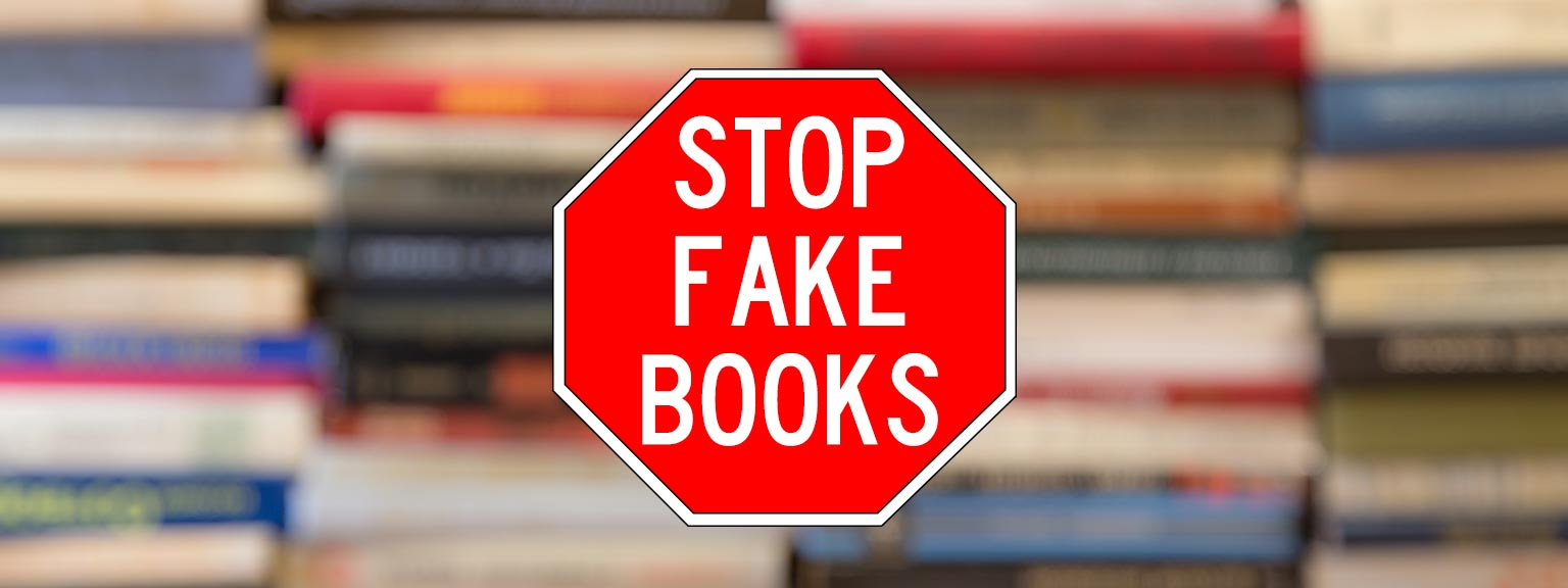 Stop Fake Books