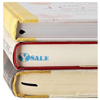 Remainder marks on books