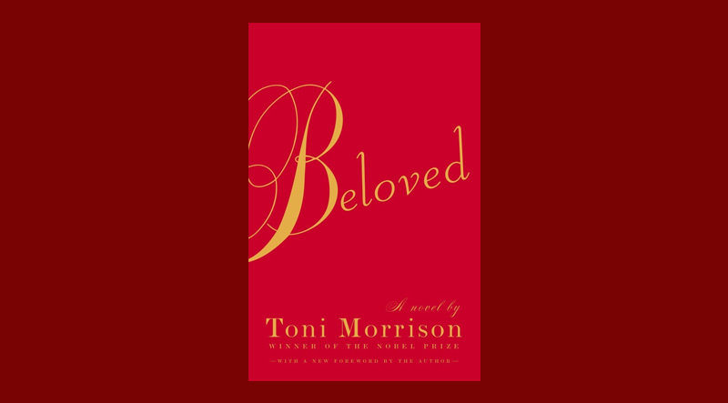 Book cover for Beloved by Toni Morrison
