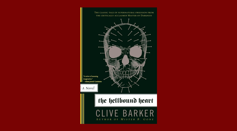 Book cover for The Hellbound Heart by Clive Barker