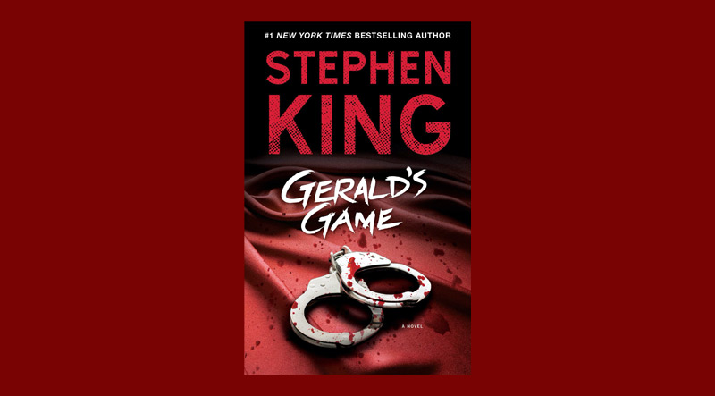 Book cover for Gerald's Game by Stephen King