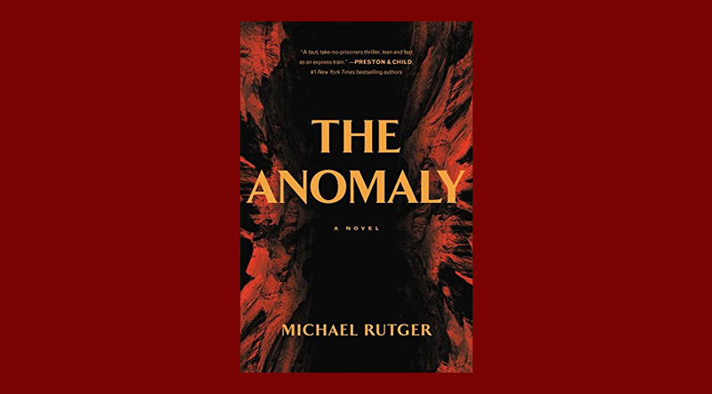 Book cover for The Anomaly by Michael Rutger