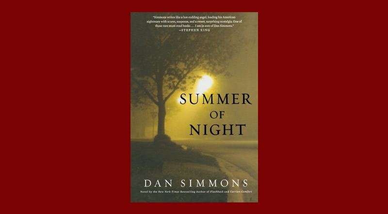 Book cover for Summer of Night by Dan Simmons