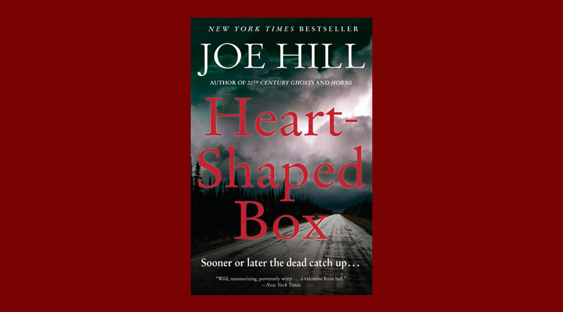 Book cover for Heart-Shaped Box by Joe Hill