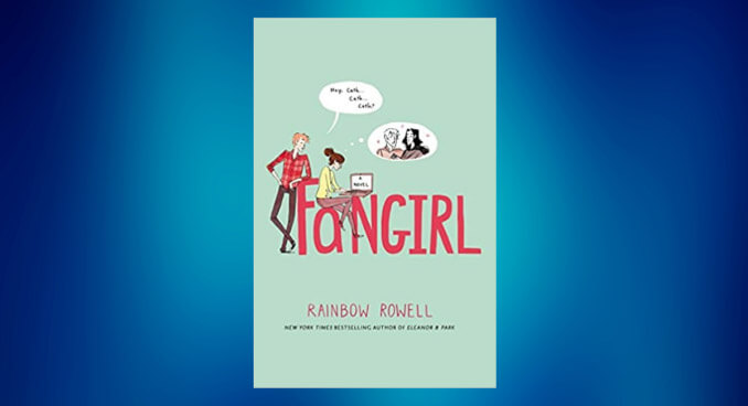 Book cover for Fangirl