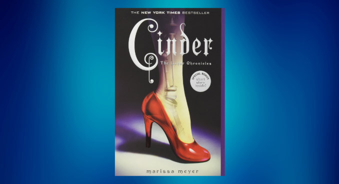 Book cover for Cinder