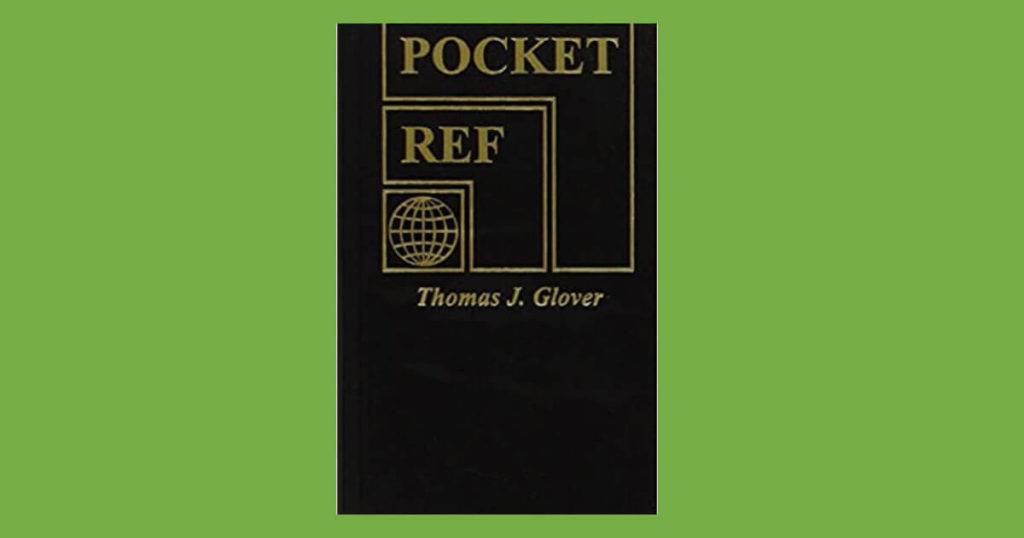 Book cover for Pocket Ref