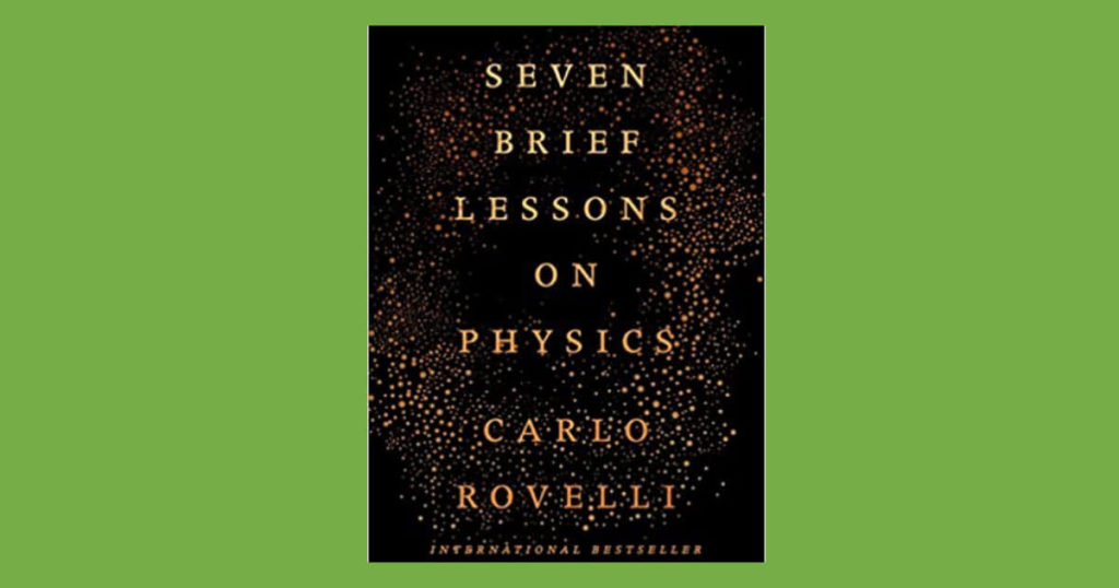Book cover for Seven Brief Lessons on Physics