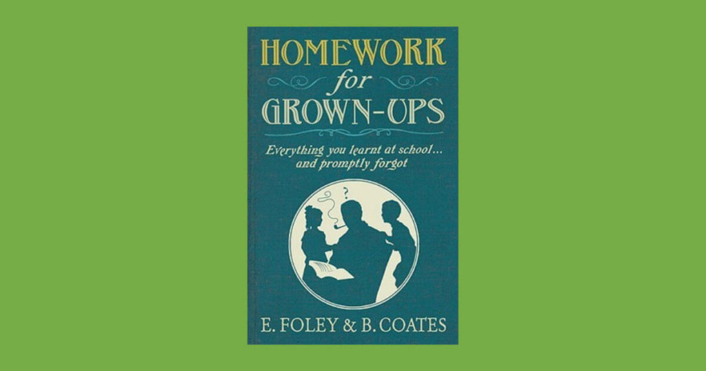 Book cover for Homework for Grown-ups