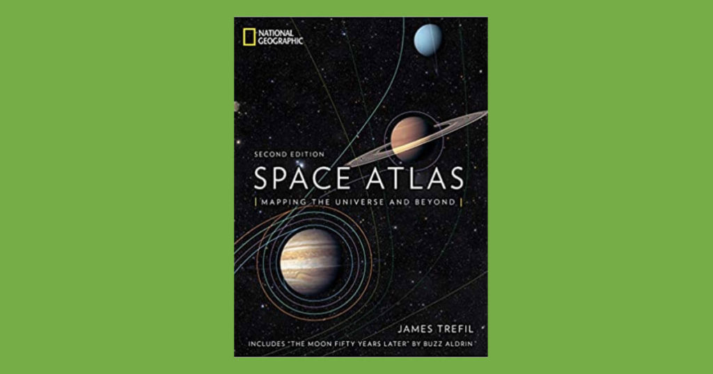 Book cover for Space Atlas