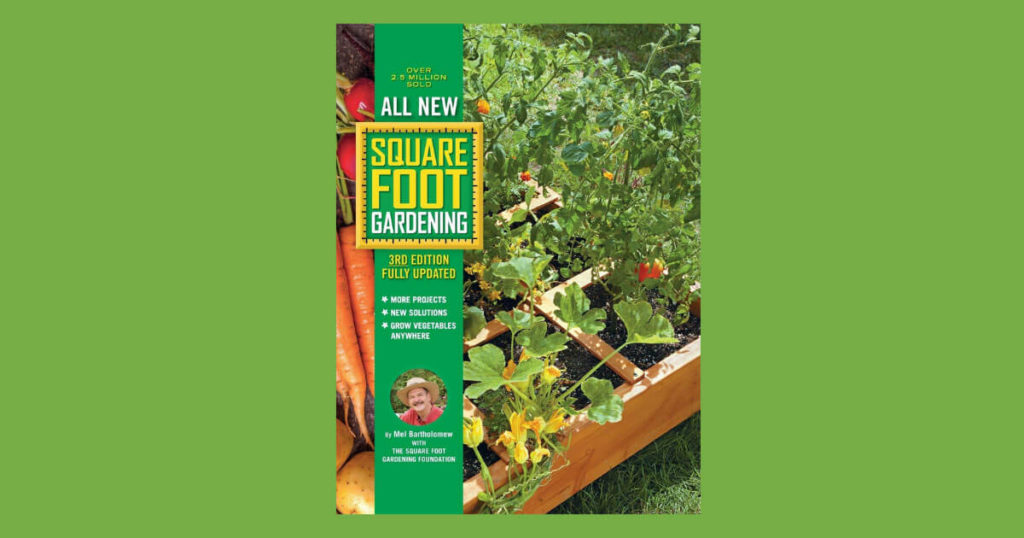 Book cover for Square Foot Gardening