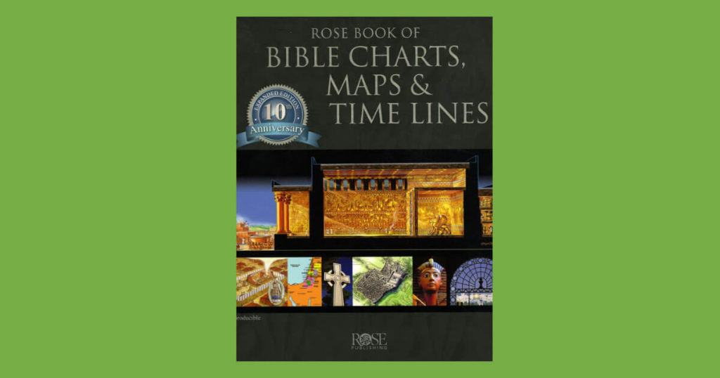 Book cover for Bible Charts, Maps and Timelines