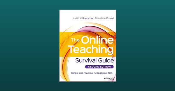 Book cover for The Online Teaching Survival Guide